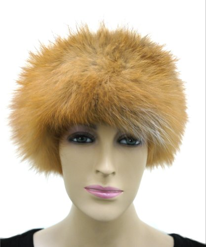 Fox Fur Headband (Beige) by Hima