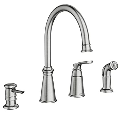 Moen 87044srs Whitmore One Handle High Arc Kitchen Faucet
