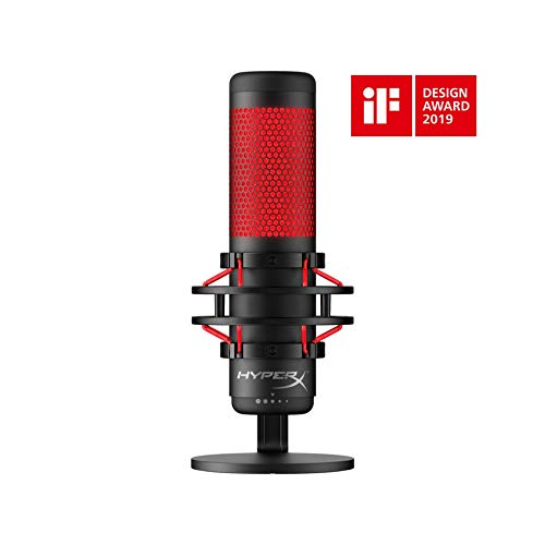 HyperX QuadCast USB Condenser Gaming Microphone for PC