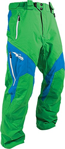 HMK Peak 2 Pants, Distinct Name: Green/Blue, Gender: Mens/Unisex, Primary Color: Green, Size: 2XL HM7PPEA2GB2X