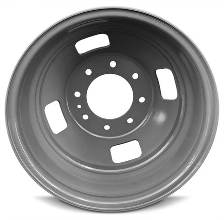 Ford F350SD DRW Dually (05-16) 17 Inch 8 Lug Replacement Wheels Rims 17x6.5 Inch 8 Lug 142mm Center Bore 143mm Offset - Set of 6 by Road Ready Wheels (Image #2)