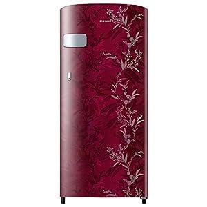 Samsung 192 L 2 Star Direct Cool Single Door Refrigerator (RR19A2Y2B6R/NL, Mystic Overlay Red)