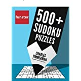 Funster 500+ Sudoku Puzzles: Easy, Medium, Hard Sudoku Puzzle Book