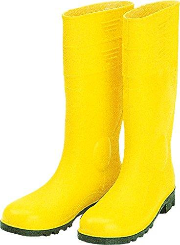 S5 Gummistiefel Baustiefel gelb Stahlkappe, Durchtrittschutz , besonders flexibel , korrosionsfrei Gelb