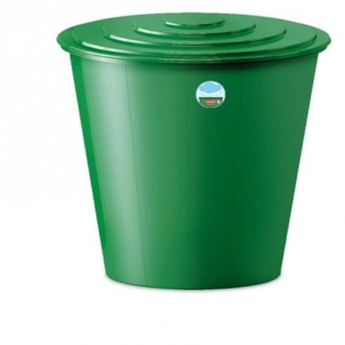 XL Wassertank 210 Liter aus Kunststoff in Grün. Inklusive Wasserhahn (optional zu montieren) und Deckel mit Sicherheitsverschluss! Topp für den Garten!