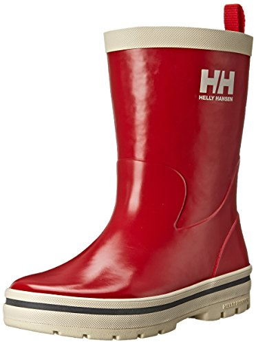 Midsund Unisex Kids' Rain Boots White Helly Junior Hansen Red Silver Welly wUCERq