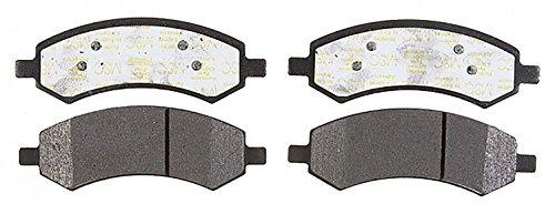 ACDelco 14D1084CH Advantage Ceramic Front Disc Brake Pad Set (Mitsubishi Metal Front Brake Pad)