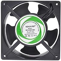 MDOVPD Cooling Fan, AC axial Fan, 120mm x 38mm 110-120V Cooling Ventilation Exhaust Projects UL, CE,3C Certification