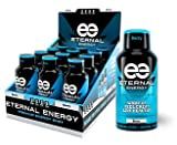 Eternal Energy shot BERRY flavor 2oz - 12 Pack - Vitamin B, Vitamin C, Amino Acids, Antioxidants, Caffeine, Quercetin, Taurine, Green Tee