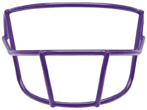 Schutt Sports Youth OPO-YF Super Pro Carbon Steel Football Faceguard, Purple ()