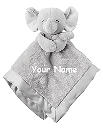 dcf1af9be1 Image Unavailable. Image not available for. Color: Personalized Carter's  Elephant Cuddle Baby ...