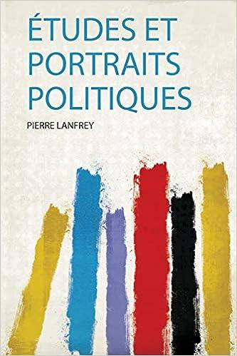 Études Portraits Politiques