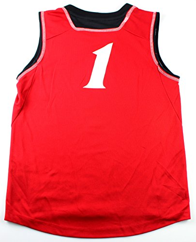 Cincinnati Bearcats #1 NCAA University of Cincinnati Youth Basketball Jersey Red (Youth XLarge 18/20)