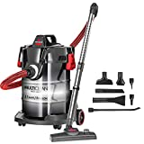 Bissell MultiClean Wet/Dry Garage and Auto Vacuum Cleaner, Red,...