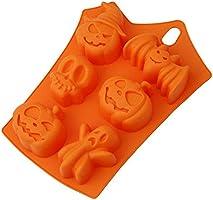 Lovewe Halloween Cake Mold,Creative Happy Halloween Silicone Pumpkin Cake Silicone Mold,Kitchen Bake Tools