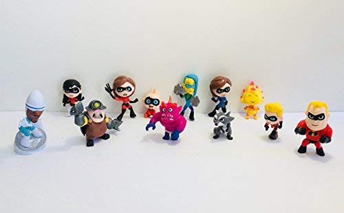 The Incredibles 2 Deluxe Cupcake/Cake Toppers by The Incredibles