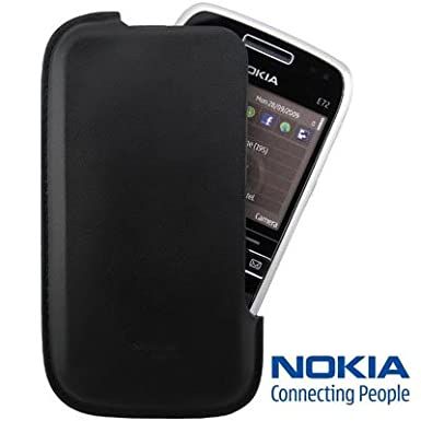 separation shoes 3edc9 74881 100% Genuine Nokia E72 Leather Case cover Skin Pouch Shell CP-277 ...