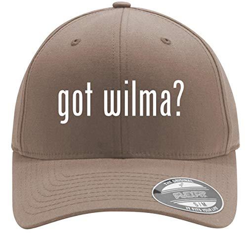 - got Wilma? - Adult Men's Flexfit Baseball Hat Cap, Khaki, Large/X-Large
