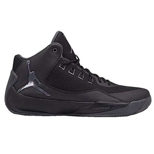 Nike Jordan Rising High 2 Mens basketball-shoes 844065 (8 D(M) US, Black/Dark Grey Blk Infrrd 23) by Nike