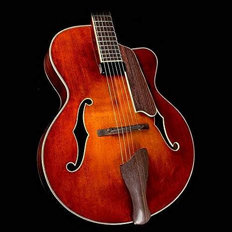 Eastman ar605ce Archtop guitarra con carcasa rígida: Amazon.es ...