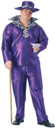 Big Daddy Costume - Plus Size - Chest Size 46-50