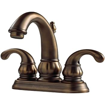 Pfister Treviso 2 Handle 8 Quot Widespread Bathroom Faucet Tuscan Bronze Touch On Bathroom Sink Faucets Amazon Com