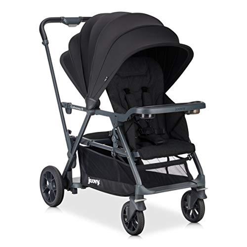 JOOVY Caboose S Standard Baby Strollers, Black Melange