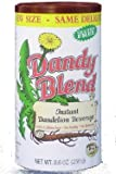 Dandy Blend Instant Herbal Beverage with Dandelion Coffee Alternative - 14.1 Oz CAFFEINE FREE