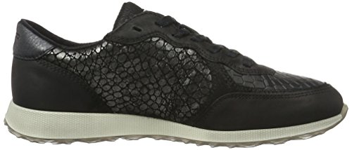 Black Weiß Femme EU Ecco 50046black Sneak Ladies black Basses Noir Baskets Black 42 RaRvpXqx