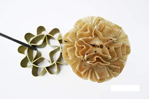 Dok Jok Cookie Bouquet Sunflower 325 Inch Diameter Crispy Biscuit