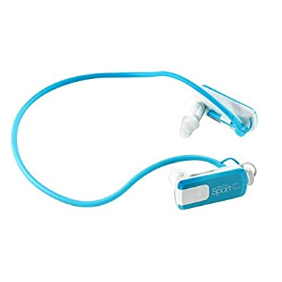 Impecca MPWH82W 8GB Waterproof Neckband MP3 Player and Headphones for Swimming, Water Sports