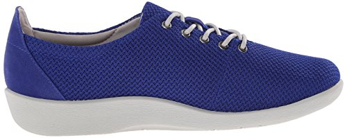 Clarks Mujeres Cloudsteppers Sillian Tino Lace-up Shoe Blue