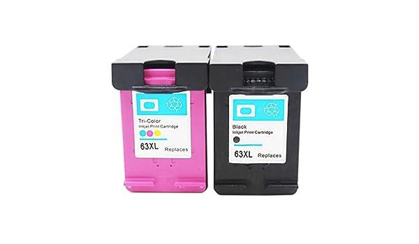 inkmate - Juego de 10 cartuchos de tinta para HP 63 X L ...
