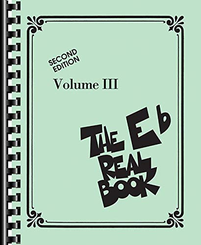 Hal Leonard Santas - The Real Book - Volume III: Eb Edition (Real Books (Hal Leonard))