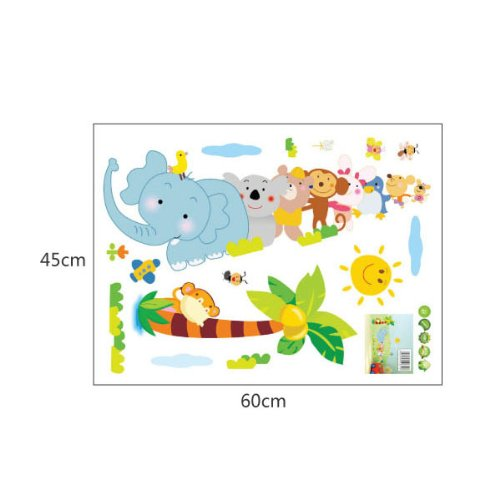 Amazon Com 1 X Toprate Tm Monkey Birds And Elephant Rabbit Bear