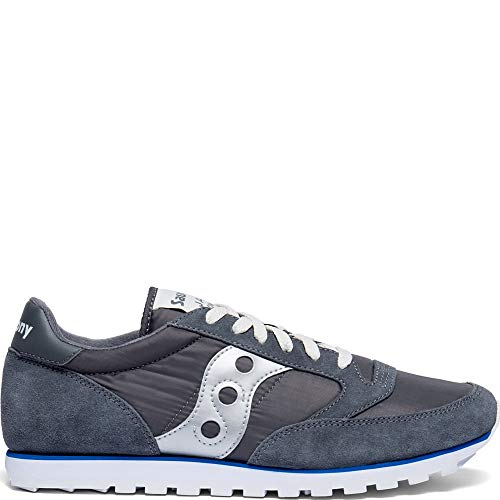 Saucony Jazz Low Pro Men 11 Grey | Blue | Silver