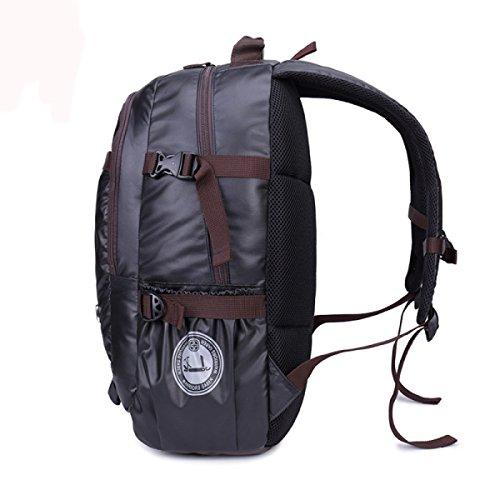 KYFW Wandern Rucksack Wasserdichte Rucksacktasche Outdoor Sport Daypack Für Klettern Bergsteigen Camping Angeln Reisen Radfahren Skifahren,B-33*20*49cm-36-55L A-33*20*49cm-36-55L