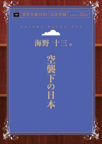 空襲下の日本 (青空文庫POD(大活字版))