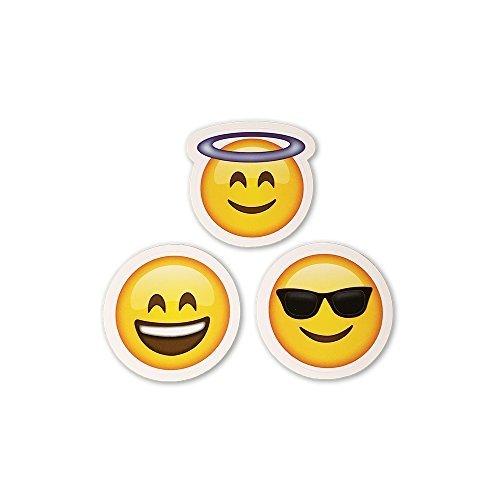 (15 Big Emoji Stickers | Each Over 2
