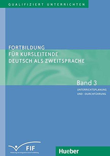 Download Fortbildung Fur Kursleitende Deutsch Als Zweitsprache - Band 3 (German Edition) pdf