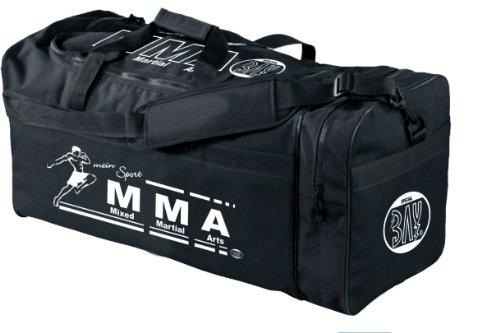 """BAY® XL Sporttasche """"mein Sport"""" MIXED MARTIAL ARTS MMA Fight Fighting MUAYTHAI MIX Art UFC, Tasche, Trainingstasche, Thaiboxtasche Bag, schwarz, 70 x 32 x 30 cm Thailand Käfigkampf Käfigfight Motiv"""