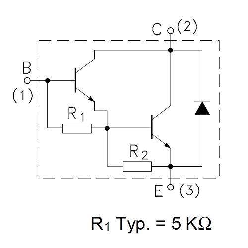 8 Pieces TIP142 NPN Power Darlington Transistor   10A   Uceo 100V   Ucbo 100V   Ptot 125W   TO-218 Package   TIP142 = TIP141 = TIP140