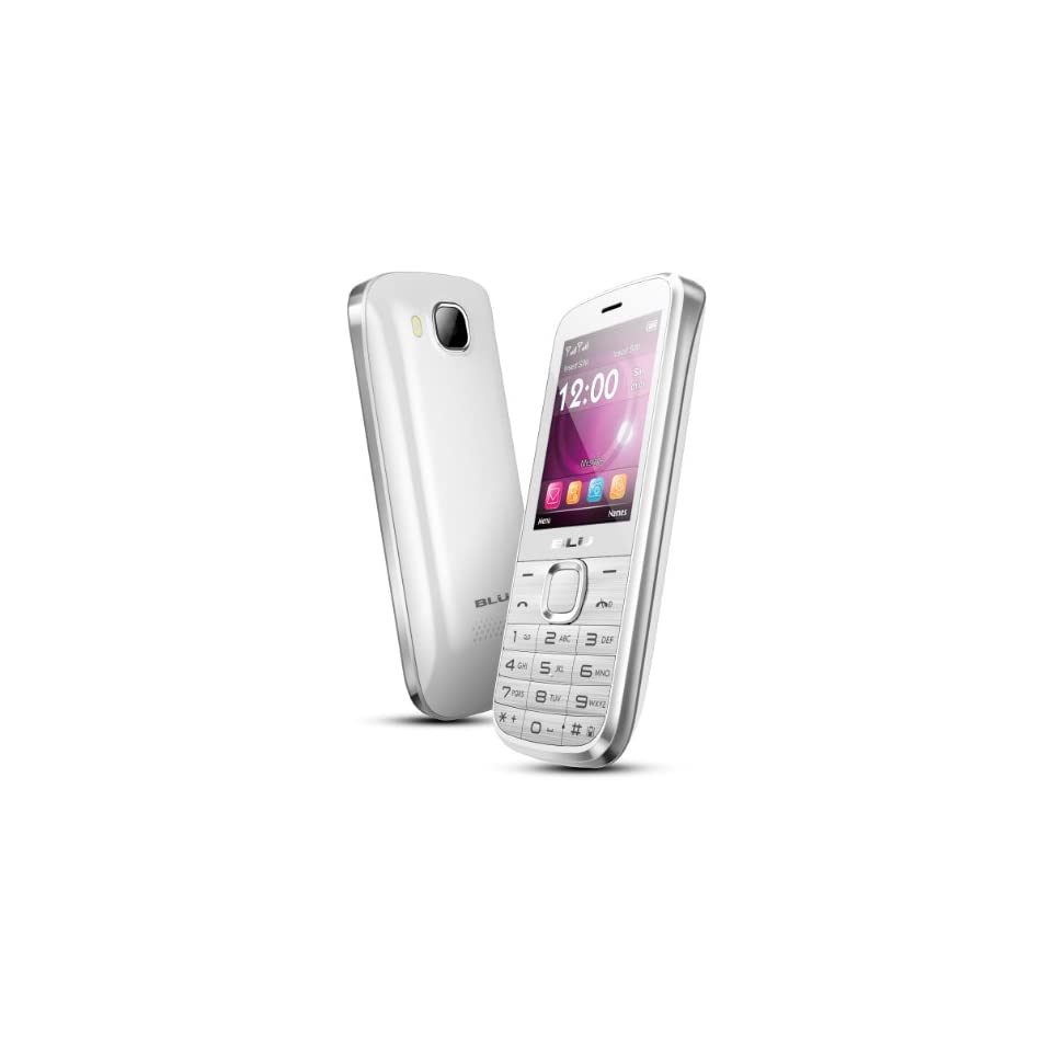 BLU Diva T272T Unlocked GSM Phone with Dual SIM, VGA Camera + LED Flash, Bluetoo