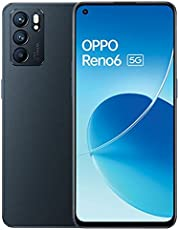 موبايل رينو 6 الجيل الخامس 5G بشريحتين الاتصال، لون اسود ستيلار، 8 جيجابايت رام 128 جيجابايت