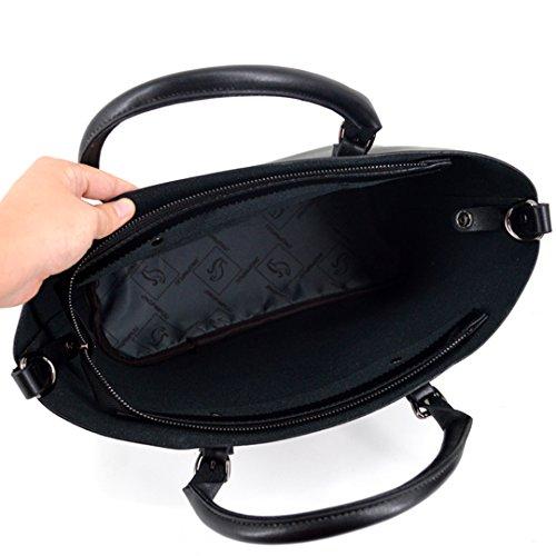 Millya - Bolso de tela para mujer, negro (negro) - bb-01475-02C negro
