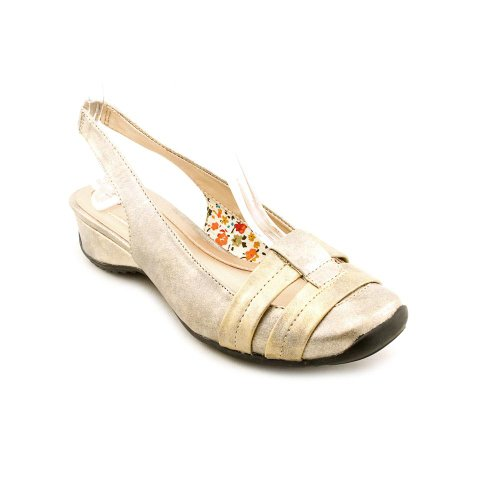 Women's Easy Street, la ray low heel casual slingbacks METALLIC MULTI 8 - Ww Ray