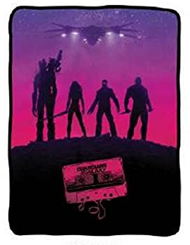 Guardians of the Galaxy Awesome Mix Fleece Throw Blanket