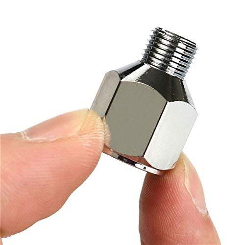 Manguera de Aire de Colector de Divisor Accesorios de Aer/ógrafo Uso M/últiple con Ajuste de V/álvula Perilla 7 pcs aer/ógrafo manguera adaptador Set