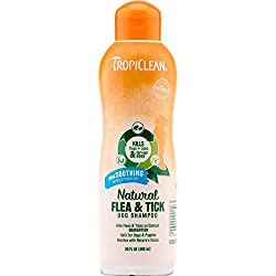 Natural Flea and Tick Shampoo for Pets