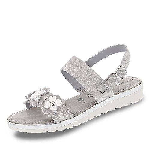 Tamaris 1-1-28175-38/221 - Sandalias de vestir para mujer GREY COMB